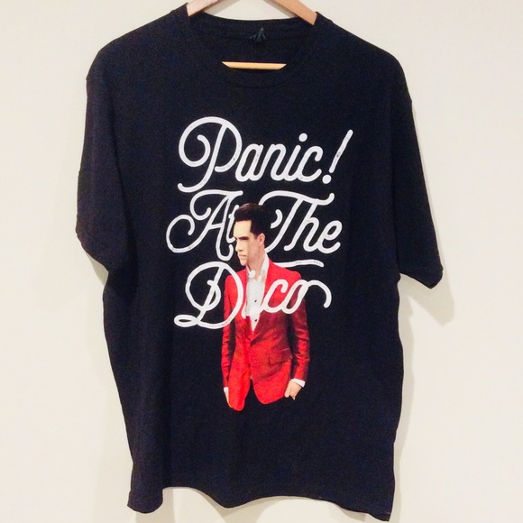 d32812fe Tultex Shirts | Panic At The Disco Brendon Urie Size Xl Tshirt ...